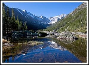 Glacier Gorge trail to Mills Lake