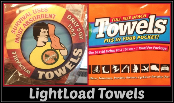 light load towels